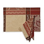 Archer Woven Jacquard Placemat and 4-Pack of Napkins
