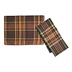 Hampton Plaid Placemat and 4-Pack of Napkins