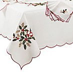 Lenox® Holiday™ Cutwork Tablecloth and Napkin