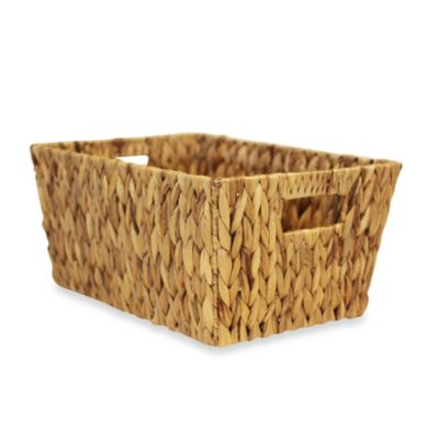 Water Garden Large Tote Basket
