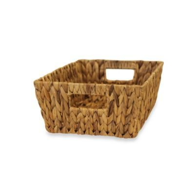 Water Garden Medium Tote Basket