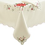 Christmas Joy Tablecloth and 4-Pack of Napkins