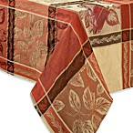 Archer Woven Jacquard Tablecloth and 4-Pack of Napkins