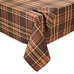 Hampton Plaid Tablecloth and 4-Pack of Napkins