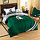 Michigan State Twin Collegiate Complete Bed Ensemble