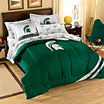 Collegiate Michigan State Complete Bed Ensemble