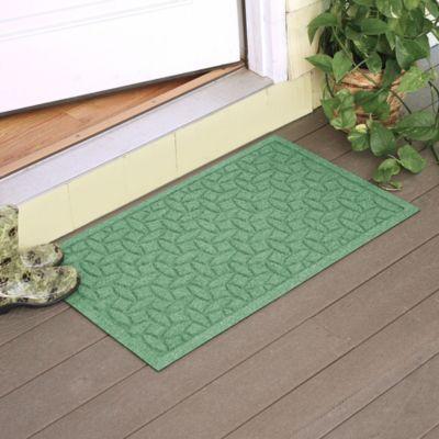 Weather Guard™ Ellipse 2-Foot x 3-Foot Door Mat in Light Green