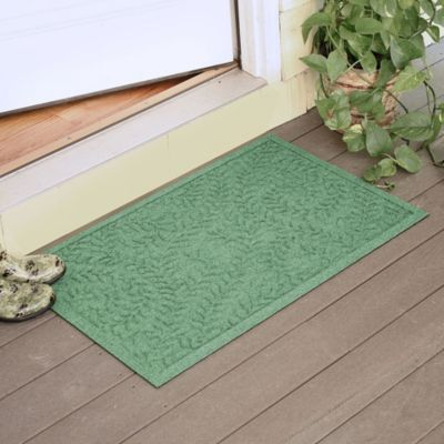 Weather Guard™ Boxwood 23-Inch x 35-Inch Door Mat in Light Green