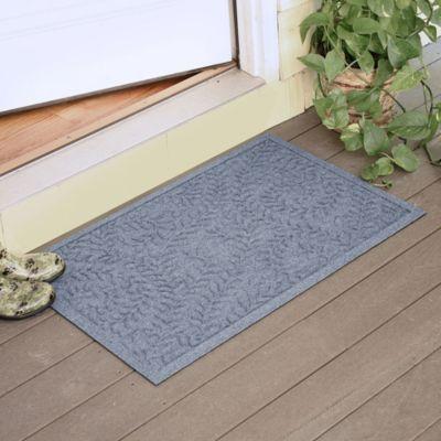 Weather Guard™ Boxwood 23-Inch x 35-Inch Door Mat in Bluestone