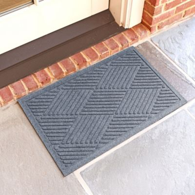 Weather Guard™  Diamonds 18-Inch x 28-Inch Doormat in Bluestone