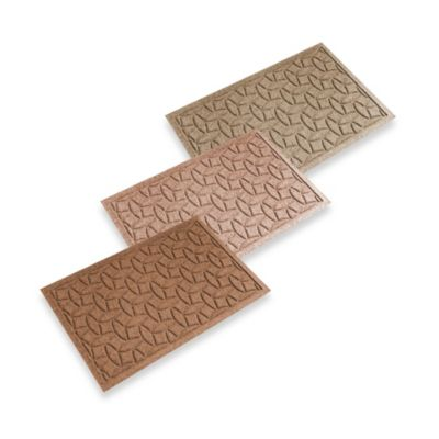 Weather Guard™ Ellipse 18-Inch x 28-Inch Door Mat in Camel