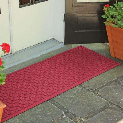 Weather Guard™ Ellipse 22-Inch x 60-Inch Door Mat in Purple