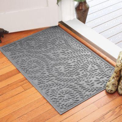 Weather Guard™ Boxwood 30-Inch x 45-Inch Door Mat in Medium Grey