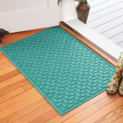 Weather Guard™ Ellipse 30-Inch x 45-Inch Door Mat in Aquamarine