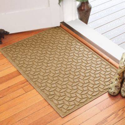 Weather Guard™ Ellipse 30-Inch x 45-Inch Door Mat in Gold
