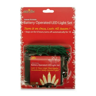 Battery Operated Christmas Lights LED