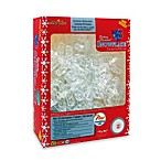Warm White LED Twinkling Snowflakes (Set of 3)