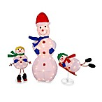 Lighted Snowman Family (Set of 3)