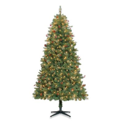 7-Foot Baywood Tree Pre-Lit with 500 Clear Lights