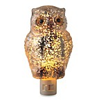 Midwest-CBK™ 6-Inch Glittering Speckled Owl Night Light