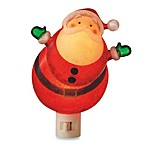 Midwest-CBK™ 6-Inch Glittering Wobble Santa Night Light