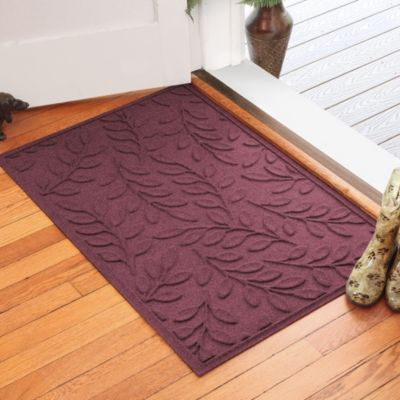 Weather Guard™ Brittney Leaf 30-Inch x 45-Inch Door Mat in Camel