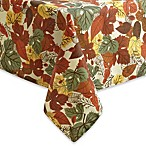 Fall Medley Tablecloth and 4-Pack of Napkins