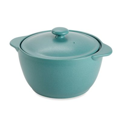 Noritake® Colorwave Turquoise 2-Quart Covered Casserole