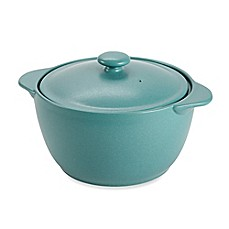 Noritake® Colorwave Covered Casserole in Turquoise