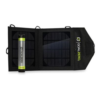 Goal Zero Switch 8 Solar Recharging Kit with Nomad 3.5 Solar Panel