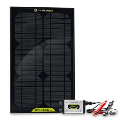 Goal Zero Guardian 12V Solar Recharging Kit with Boulder 15