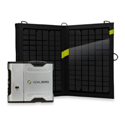 Goal Zero Sherpa 50 Solar Recharging Kit with 110V Inverter