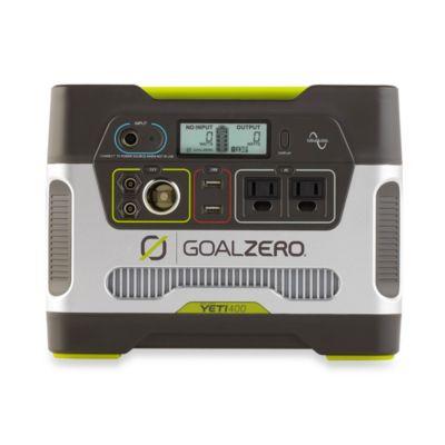 Goal Zero Yeti 400 Solar Generator