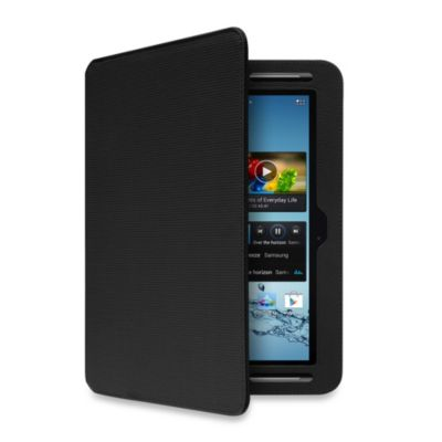 Aluratek Slim Color Folio Case with Bluetooth Keyboard for Samsung Galaxy Tab 2