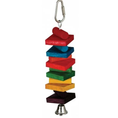 Rainbow Stack 1.5-Inch x 6-Inch Small Pet Toy