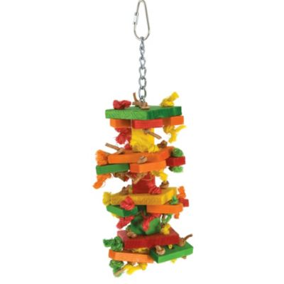 Mini Knots 'n Blocks Bird Toy