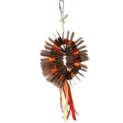 Small Vibrant Cluster Bird Toy