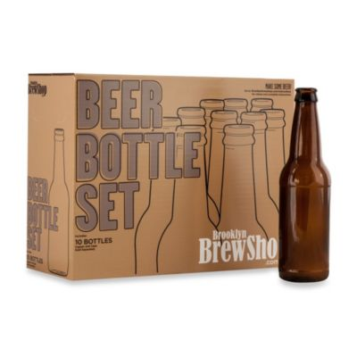 Brooklyn BrewShop 10-Piece Beer Bottle Set