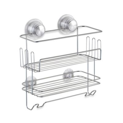 Interdesign Power Lock™ Ultra Two-Tier Combo Basket