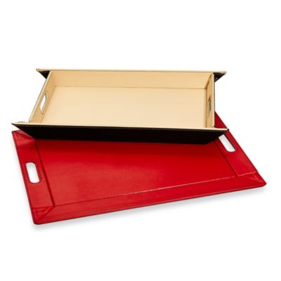 Ginsey FreeForm Tray in Red/Black