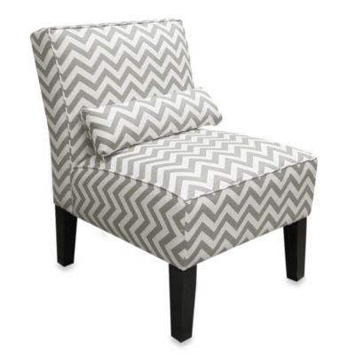 Skyline Furniture Armless Chair in Ash