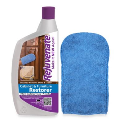 Rejuvenate® 13-Ounce Cabinet & Furniture Restorer with Applicator Mitt