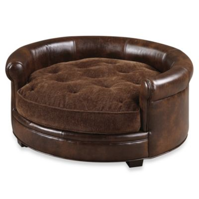 Uttermost Lucky Designer Pet Bed in Brown