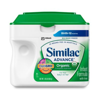 Similac® Advance® 1.45-Pound Organic Infant Formula