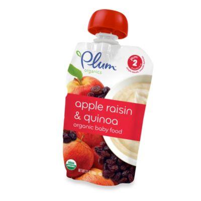 Baby Food > Plum Organics™ Second Blends™ 3.5 oz. Apple, Raisin and Quinoa Organic Baby Food