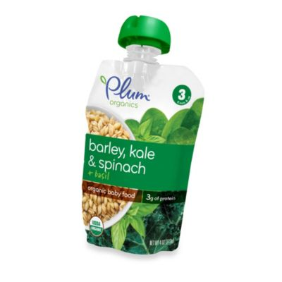 Food > Plum Organics™ Baby Stage 3 Barley, Kale and Spinach and Basil Meal