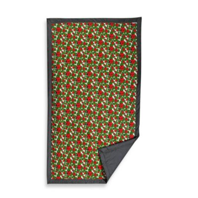 Tuffo Water-Resistant Outdoor Blanket in Ladybugs