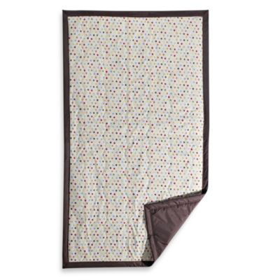 Tuffo Water-Resistant Outdoor Blanket in Mini Dot