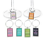 Fun Sayings Wine Charms (Set of 6)
