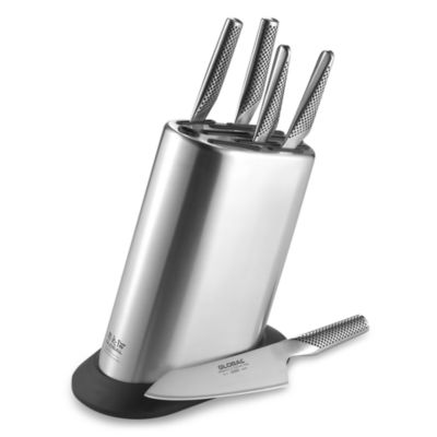 Global 6-Piece Knife Block Set